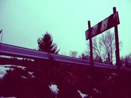 Road Sign by Autopsyh