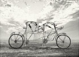 CYCLISTS by aspius