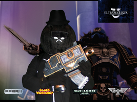 HB Cosplay with Bolt Pistol by G1G4DR34DKN0T