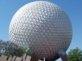 Spaceship Earth at Epcot by Dream-finder