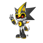 The First Metal Sonic by Voxollous