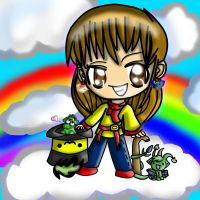 Profile Pic: Rainbows And Charries by Dracosia