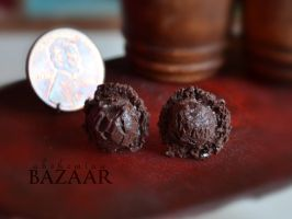 Chocolate Ice Cream Scoops - Posts by TheMiniatureBazaar