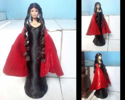 Barbie Arwen Undomiel progress by seawaterwitch