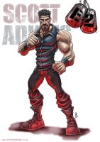 Scott Adkins Expendable 2 by DazTibbles