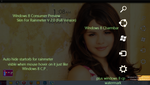Windows 8 Consumer PReview rainmeter skin by Faisalharoon