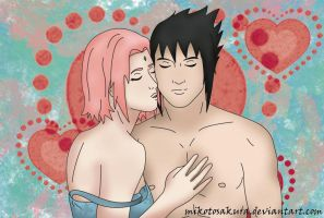 Sasusaku Seducing you by MikotoSakura