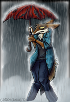 Dreary Drizzle by ChaosCanine