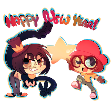 happy new year! by Pharaoh-Ink