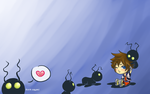 Heartless wallpaper by MousyM