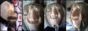 Thorin's Gelatin Prosthetic nose by RHatake