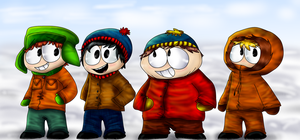 South Park by PlagueDogs123