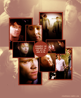 Sam and Dean by inacloudyday