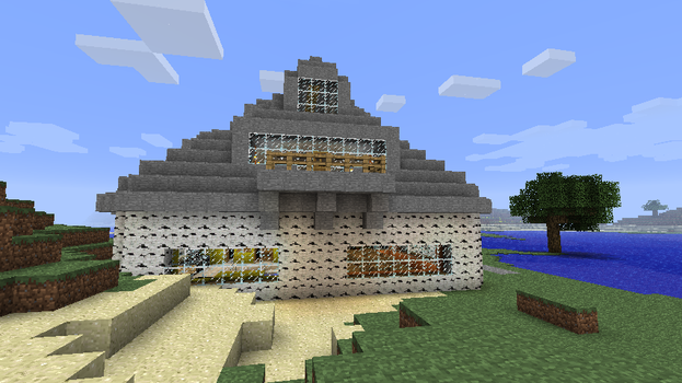 minecraft mansion side by coachlovesfootball