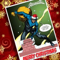 a nightwing little christmas by valiantonov