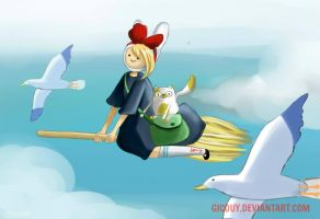 FIONNA'S DELIVERY SYSTEM by gicouy