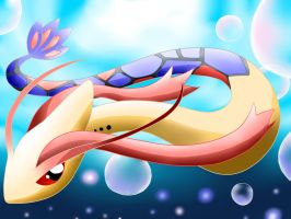Milotic by NeonCelestia20