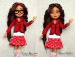 OOAK repaint Briar Beauty Ever After High doll by densetsu-no-akira