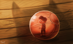 DAY 113. Hewman Hamster Ball (25 Minutes) by Cryptid-Creations