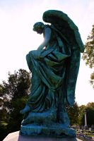 Weathered Copper Angel by DonLeo85
