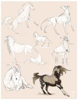 Commission Alien Equines by Teggy
