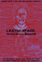 HMAD and New Beverly Presents: Leatherface III by CtrlZAtelier