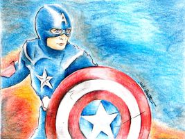 Captain America by beePear
