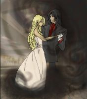 integra x alucard by Toadie-o