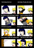 NaruHina: Camera Shy by xmizuwaterx