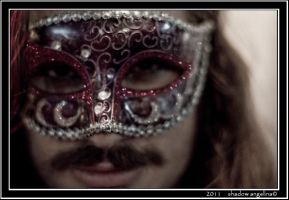 Masked Stranger by drowningwoman