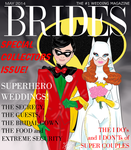 BRIDES magazine Robin and Batgirl's wedding by E-Ocasio