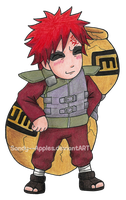 Gaara is best Commander General by Sandy--Apples