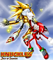 Knuckles - Rival of Steel by Jack-of-Shadows