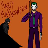 'Happy Halloween', from Gotham by ENTITY-JS