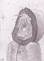 Kenny McCormick Pencil Portrait by XxKewonaWolfxX