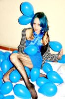 Blue Ballon by TheMajestyNextDoor