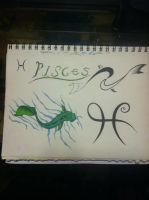Pisces Flash by clearfishink