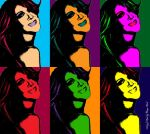 Celine Dion Pop Art 001 by ArtsofKirk