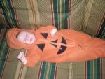 Baby Pumpkin suit by Gwenyver-Costumes