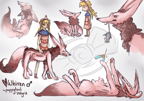 Whirren Sketches by Sophalone