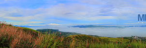 Panoramic View of Mt. Sembrano by koza30