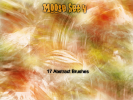 Moose Set 4 Abstract by Moose6 by droz928
