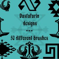 Dastafarin designs by rL-Brushes