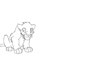Lion king Bse Scar Cub by KittengLovergin