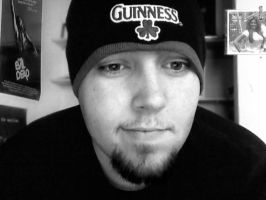 The Guinness Beanie by DarkerThanBlack