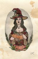 The Autumn Witch by Kitty-Grimm