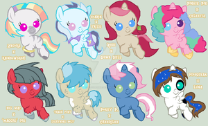 Foal Ship Adoptables 2 (CLOSED) by 9-ToyBonnie