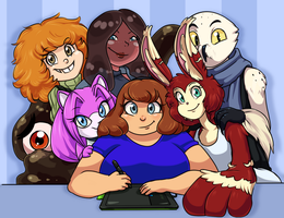 My OCs 2014 by ScittyKitty