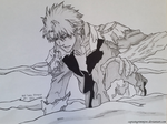 Adult Toshiro Hitsugaya by captaingrimmjow