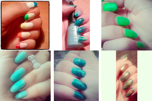 Nail art (part 3) by Rossally